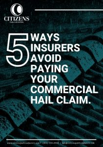5 ways insurers avoid paying your commercial hail claim guide